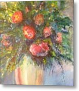 Out Of The Garden Metal Print
