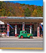 Out Of The Past Metal Print