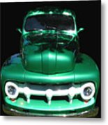Out Of The Shadows - 51 F100 Ford  Metal Print