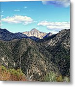 Out Of The Shadows - Angeles Crest Highway Metal Print