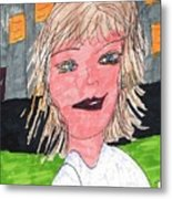 Out On The Town  Metal Print