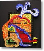 Out The Box Metal Print
