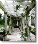Out To The Garden Metal Print