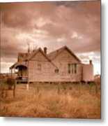 Outback Farmhouse Metal Print