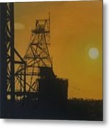 Outback Mines Metal Print