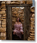 Outdoor Outhouse Metal Print