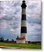 Outer Banks Beach Lighhouse  Metal Print