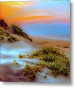 Outer Banks Soft Dune Sunrise Fx2 Metal Print