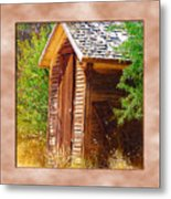 Outhouse 1 Metal Print