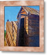 Outhouse 2 Metal Print