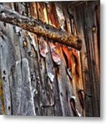 Outhouse Holzworth Historic Site Metal Print