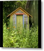 Outhouse Metal Print