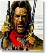 Outlaw Josey Wales The Metal Print