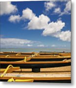 Outriggers Metal Print