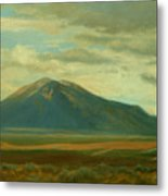 Outside Of Taos Metal Print by Phyllis Tarlow