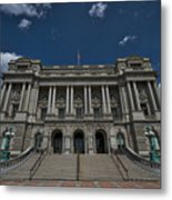 Outside The Library Of Congress Metal Print