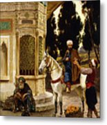 Outside The Palace Metal Print