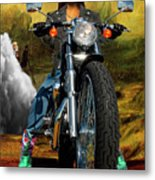 Outta Here Metal Print