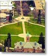 Oval At University Of Montana  Metal Print