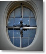 Oval Window Of Wittenberg Metal Print