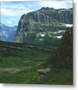 Over Logan's Pass Metal Print