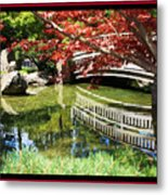 Over Springtime Pond Metal Print