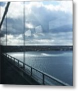 Over The Bridge Metal Print