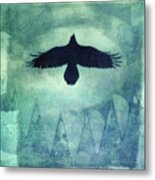 Over The Edges Metal Print
