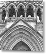 Over The Entrance To The Royal Courts  Metal Print