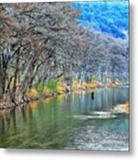 over the Guadalupe Metal Print