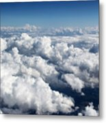 Over The Heavenly Clouds Metal Print