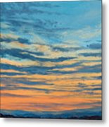 Over The Hills Metal Print