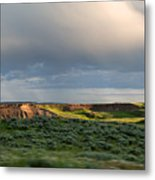 Over The Land Metal Print
