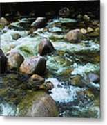 Over The Boulders - Mossman Gorge, Far North Queensland, Australia Metal Print