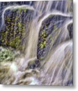 Over The Stones Metal Print