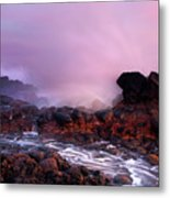 Overcome By The Tides Metal Print