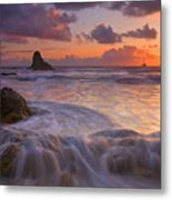 Overcome Metal Print by Mike  Dawson