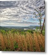 Overlook At Talking Rock Creek Metal Print