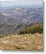 Overlooking Santa Paula Canyon Metal Print