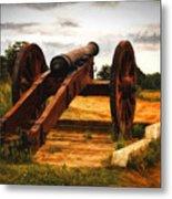 Overlooking Yorktown  ... Metal Print