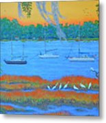 Overnight In Beaufort Metal Print