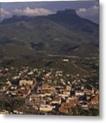 Overview Of Town Of Trinidad Metal Print