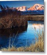 Owens River Sunrise Metal Print
