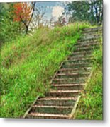 Owl Creek Mound  Metal Print