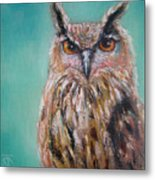Owl No.5 Metal Print