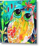 Owlette Metal Print