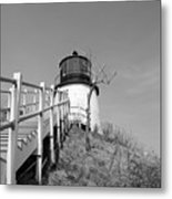 Owl's Head Light Metal Print