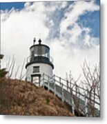 Owl's Head Lighthouse 4761 Metal Print
