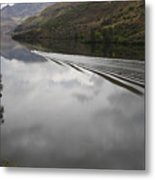 Oxbow Reservoir Wake Metal Print