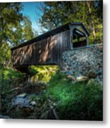 Oxford Pennsylvania Bridge Metal Print